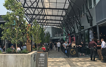 Dynamic new food and entertainment precinct opens in Newcastle