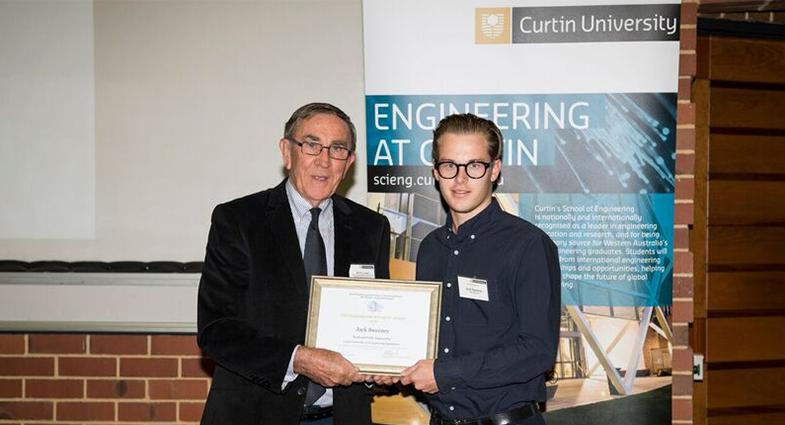 We would like to congratulate APP Graduate Civil Engineer Jack Sweeney, who has been recognised for his outstanding performance in Road and Traffic Engineering.