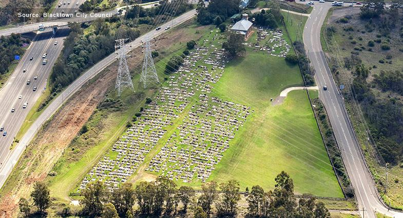 Blacktown City Council addressing Sydney's cemetery shortage