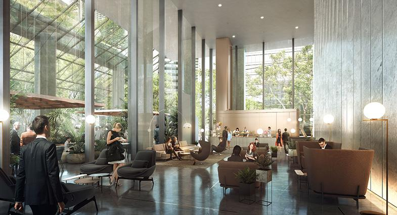 APP appointed to AMP's Bourke Place lobby refurbishment