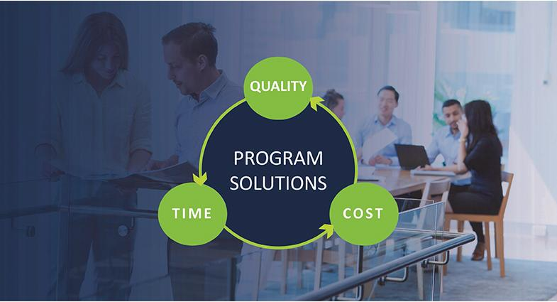 What is our program solutions business? And who's in it in Queensland?