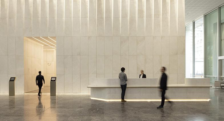 Bourke Place lobby refurbishment now open