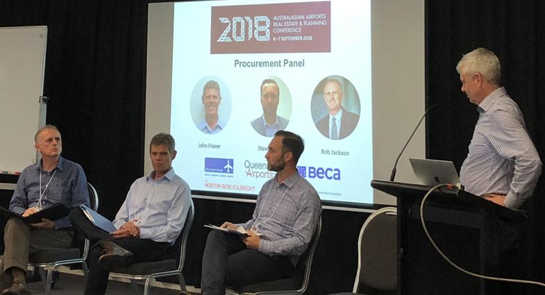 APP project management expertise as part of a panel discussion on AAREC conference