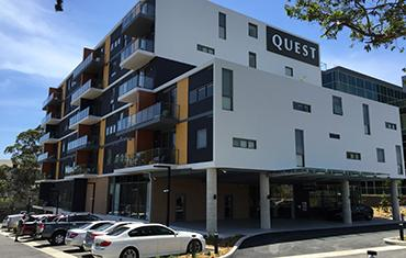 Successful completion of Quest Apartments, Macquarie Park