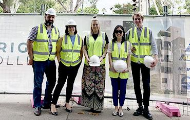Brigidine College project begins its teaching role early