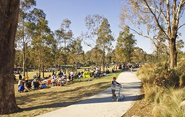 Project team for Western Sydney Parklands wins at AILA NSW Landscape Architecture Awards