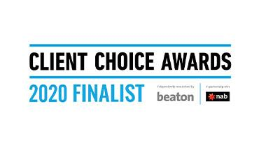 APP selected as finalist in the Client Choice Awards