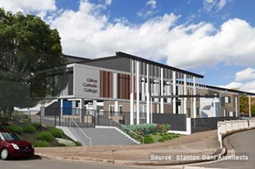 New classrooms for Gilroy Catholic College