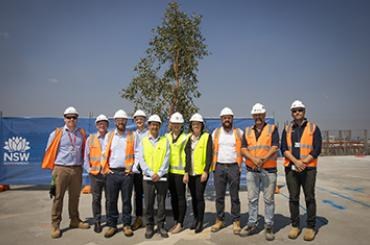 Hornsby Ku-ring-gai Hospital reaches major milestone with topping out ceremony