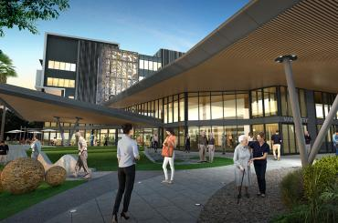 Hornsby Ku-ring-gai Hospital Redevelopment - Stage 2, Medical Imaging and Multi-storey Car Park